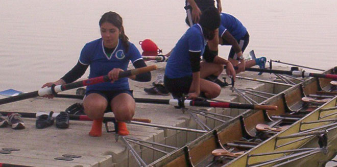 rotodock floating system designed for rowing